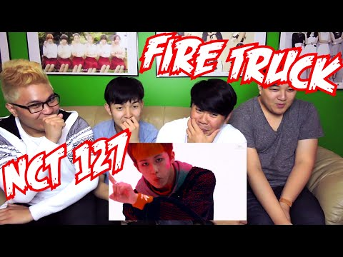 NCT 127 - Fire Truck (소방차) MV REACTION (FUNNY FANBOYS)