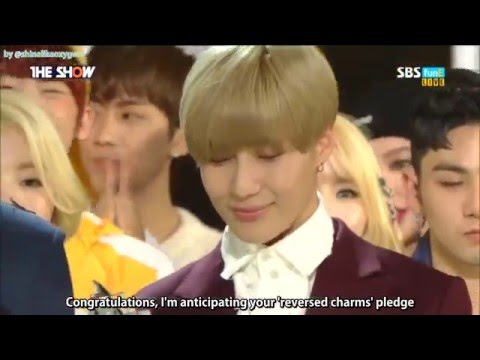 [ENG SUB] 160301 Taemin - The Show full cut (1st Win w/ Press Your Number)