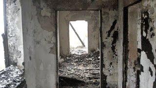 Как в Чечне сжигают дома родственников боевиков