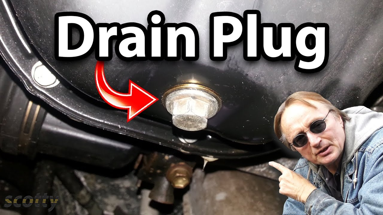 Fixing A Leaking Oil Pan Drain Plug Youtube