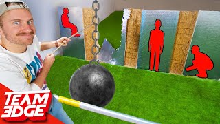 SMASH the Person Behind the Wall! | Wrecking Ball Edition!!