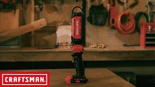 CRAFTSMAN V20* Cordless LED Hanging Worklight | Tool Overview