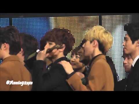 130131 EXO K SHINee Super Junior ending 엔딩 @ Seoul Music Awards 2013