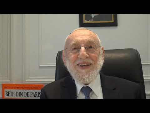 Grand Rabbin Gugenheim   Pessah Partie 1 3