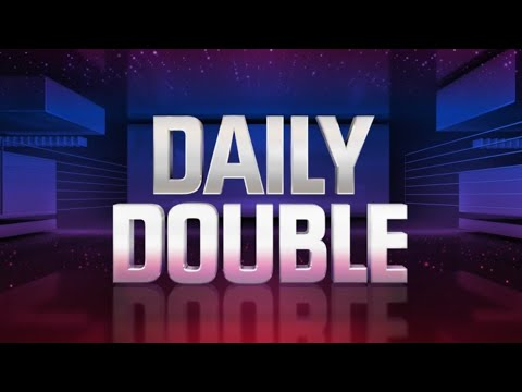 Jeopardy James Holzhauer wins all 3 daily doubles. 4/22/19