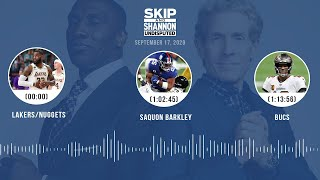 Lakers/Nuggets, Saquon Barkley, Bucs (9.17.20) | UNDISPUTED Audio Podcast