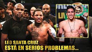 Gervonta Davis es entrenado por Floyd Mayweather para la pelea con Leo Santa Cruz