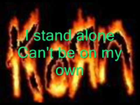 Baixar korn alone i break lyrics