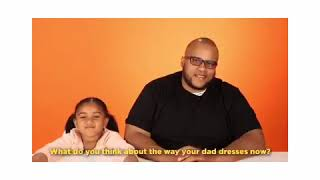 """Aniya on Today show YouTube for Playful by Buzzfeed ,""""Daughters dress their dad for a week ."""""""