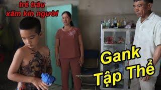 Troll Trẻ Trâu Xăm Kín Người Bị Bố Mẹ Gank Tập Thể Cực Kì Bạo Lực   TQ97