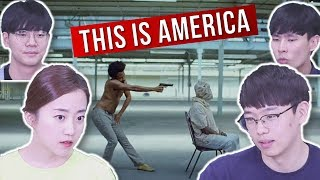 "Koreans React to ""This Is America"" by Childish Gambino"