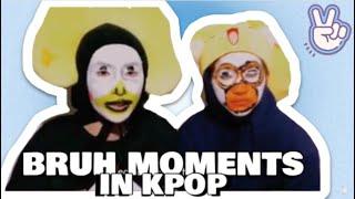 Kpop Idols Biggest Bruh Moments Live