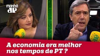 Debate sobre sobre relação entre política e economia  com Denise Campos de Toledo