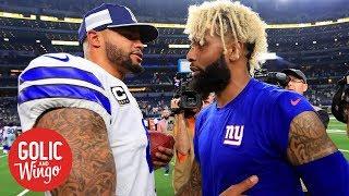 NFL Week 2 breakdown: Dallas Cowboys defeat the New York Giants 20-13 | Golic & Wingo | ESPN
