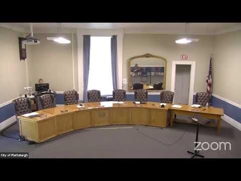 Plattsburgh Common Council Meeting  6-17-21