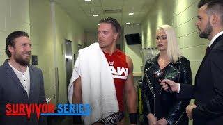 Daniel Bryan y The Miz se cruzan en los pasillos de Survivor Series