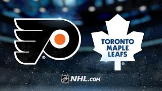 Flyers edge Maple Leafs in overtime, 5-4