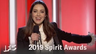 Aubrey Plaza's Opening Monologue  | 2019 Spirit Awards