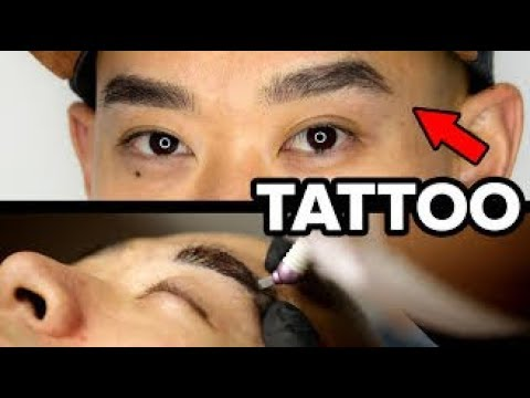 A Man Will Try Microblading His Eyebrows
