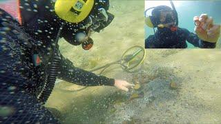 Biggest Storm Underwater Treasure Hunt Found Rings, Money & Seafood