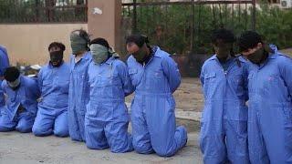 وتستمر المأساة: مشاهد مروّعة لإعدام جماعي في ليبيا     -