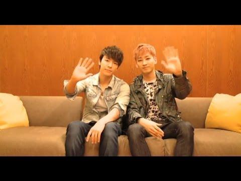 SUPER JUNIOR DONGHAE & EUNHYUK / 2ndシングル「I WANNA DANCE」リリースインタビュー
