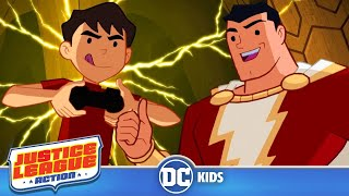 Justice League Action | SHAZAM SLAM | DC Kids