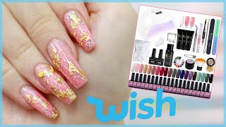 Testing The Most Expensive Polygel Kit From WISH I Could Find