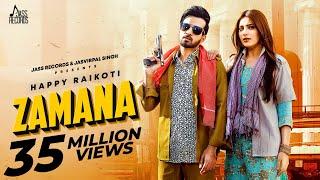 Zamana – Happy Raikoti Ft Afsana Khan Video HD