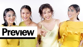 The Original Encantadia Sanggres Comment on Their Old Outfit Photos | Outfit Reactions | PREVIEW