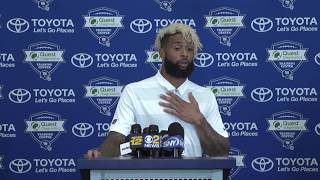 Odell Beckham Jr. Full Contract Extension Press Conference & More