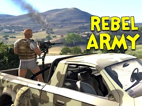 REBEL ARMY! - Arma 3: Altis Life - Ep.2