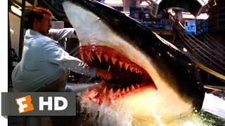 Deep Blue Sea - Jim Is Bitten Scene (3/10) | Movieclips