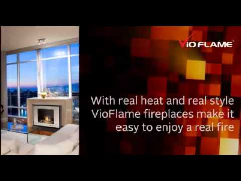 VioFlame Occasional Fireplaces