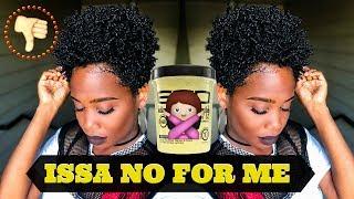 Wash n Go using Black Castor & Flaxseed Oil Eco Styler Gel   Wash N Go Series #3