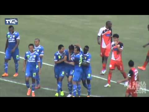 Highlight Persib vs Persijap ISL 2014