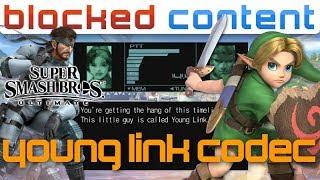 YOUNG LINK vs Snake CODEC CALL Conversation (Super Smash Bros. Ultimate)