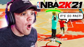 I FOUND THE FASTEST JUMPSHOT on NBA 2K21 (can't even BLINK)