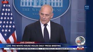 WATCH: Gen. John Kelly SLAMS Congresswoman & Media Over Trump Call Controversy 10/19/17