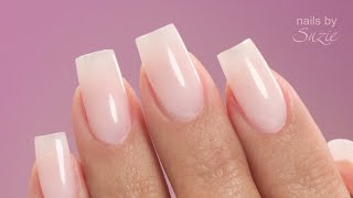 How To Apply Nail Tips On Yourself Using Gel