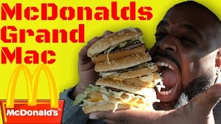 Black Man Tries McDonalds Grand Mac For The First Time