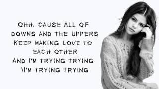 Selena Gomez   Hands To Myself lyrics