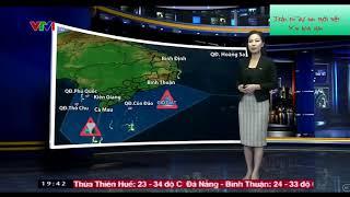 Bản tin dự báo thời tiết ngày 23/9/2018