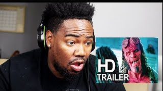 HELLBOY FINAL TRAILER REACTION!!!