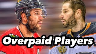 The Most Overpaid Player From All 31 NHL Teams