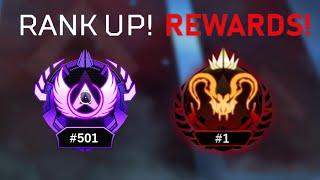 This is what happens when you Unlock Top 500 APEX PREDATOR in Season 4!
