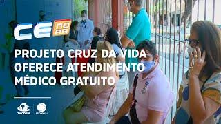 Projeto cruz da vida oferece atendimento médico gratuito