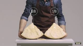 Parmigiano Reggiano: The art of cutting by hand