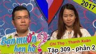 Đang gãy xương tay chàng trai cũng cố gắng từ Hà Nội vào hẹn hò | Chí Thọ - Thanh Xuân | BMHH 309 😇