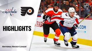 NHL Highlights | Capitals @ Flyers 1/8/20